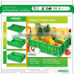 Foldable Plastic crates for farmers