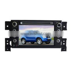 car media player for Suzuki Grand Vitara with GPS/Bluetooth/Radio/SWC/Virtual 6CD/3G internet/ATV/iPod/720P RM/720P RMVB