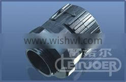 Black Clamp Pipe Fitting