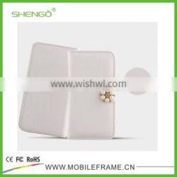 Shengo Brand New Hot Selling Best Price wallet card holder Universal Leather Case
