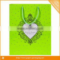 2015 hot sale cheap brown paper bags with handles