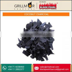 Excellent Quality Coconut Shell Charcoal for With Long Lasting Heat