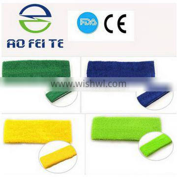 Alibaba Hot Selling Products 100% Cotton Cool Sweat Band Sport With Customized Logo