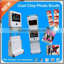 2014 New Products 3D Stunt Effect Portable Photo Booth For Wedding Rental
