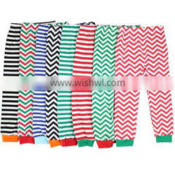 Presnickety wholesale 2016 new style chevron and stripe baby girls pants
