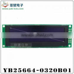 A 3.12 -inch color LCD and oled LCD module NO YB25664-032