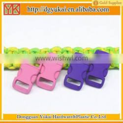 Yukai Soft side release buckle clip wristband buckle clasp for 550 paracord
