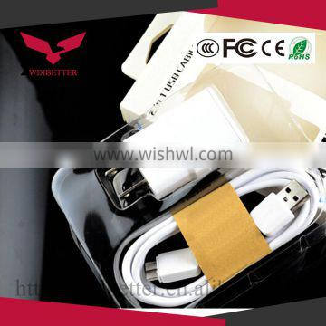 Travel Home AC Wall Charger Adapter EU Plug For Samsung Galaxy S4 S3 S2 Note 2