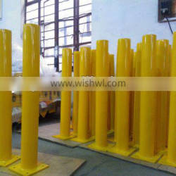 2014 best yellow powder coated bollords(TUV,ISO,SGS, OEM offered)