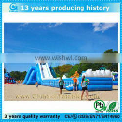 funny giant inflatable water slide for adult and kids