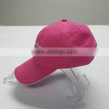 Custom made in china light up sun cap dad man hat with led