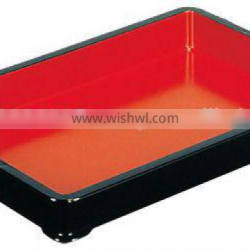ABS Red / Black Plastic Display Container Banju Vermilion Lacquered Japanese Vat