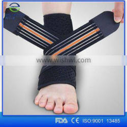 Alibaba China Fitness Ankle Brace Compression Support Sleeve Sports Running Jogging