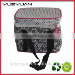 2015 Keep warm food cooler drink packaging bag promotional custom printinsulated lunch bag with plastic lining
