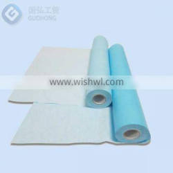 tissue+ PE laminated exam paper roll / massage bed roll