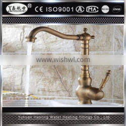 Factory Supplied Unique Design Upc Single Handle Pull Out Hot And Cold Brass Kitchen Faucet