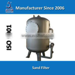 Manganese sand filter for waste water treatment