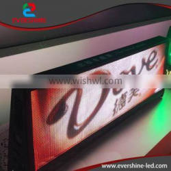 2016 led taxi top lamp advertising display