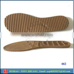 wholesales TPR man's casual shoe outsole 662