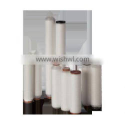 Chemical Compatible PP Pleated Filter Cartridge for Water Particles Removal /PP folded filter cartridge