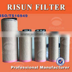 road rollers non-woven auto air filter wick C30810