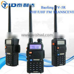 5w baofeng uv-5r dual band walkie talkie for farm open country in the field
