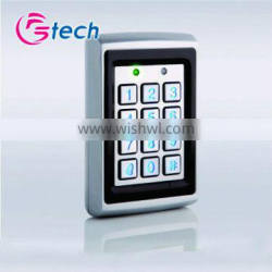 Single door access controller with back light
