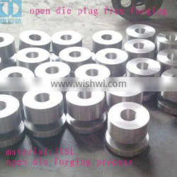 ANSI 316L Stailess steel open die forging