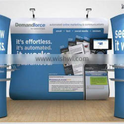 Double Sides Straight Tension Fabric Wall Display Exhibition Backdrop
