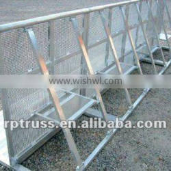 2012 Hot sell aluminum crowd control barrier for heavy duty events