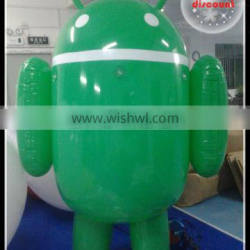 top selling airtight inflatable robot , inflatable android shape for sale