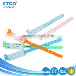 Wholesale professional manufacture various kinds of medical disposable write-on id bands
