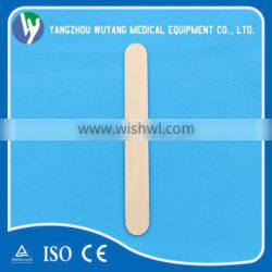 Wholesale sterile birch wood tongue depressor with high quality