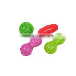 High Quality Cheap Custom Colorful PVC Toy Body Relaxing Spike Mini Massage Ball
