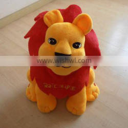 Customize valentine bear plush soft toy with love heart