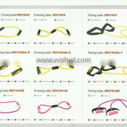 Pulley Yoga Rope Pull Lines Bands Stretch Latex Fitness Exercise Resistance Band