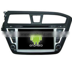 Android 4.4.2 Four Core--car dvd for hyundai I20 +OEM+mirrior link +TPMS+factory directly
