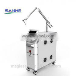 Naevus Of Ito Removal Professional Q Switch 532nm ND Yag Laser Tattoo/birth Mark /freckle/pigment Removal Machine
