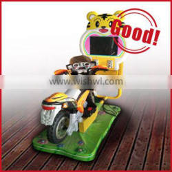 2015 hot sale 3D video game motor kiddie rides for outdoor amusement
