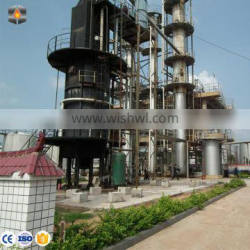 Environmental Waste Engine Oil to Lubricant Base Oil Distillation Refining Plant