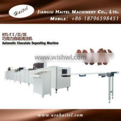 Automatic Chocolate Depositing Machine For Double Color, Center Filling, Nut Inclusion Chocolate
