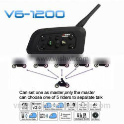 Vnetphone V6 headset handsfree sport bluetooth walkie talkie stereo bluetooth headset with mp3 player gps navigation