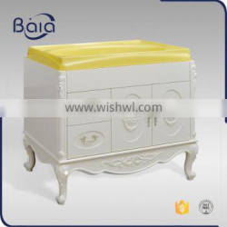 Beiai wall mounted solid wood bathroom cabinet accessories