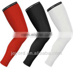 UV protection custom sublimation green compression arm sleeve