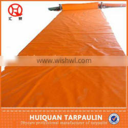 Made In China Cheap Price Orange Color PE Tarpaulin Plastic Cover Price