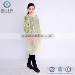 Medical useful disposable isolation gown surgical gown