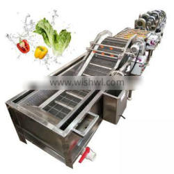 automatic orange fruit washing machine potato cleaning processing equipment