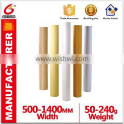 Adhesive Paper Pe Coated Paper Liner Alibaba China Supplier