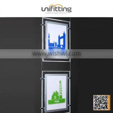Acrylic material 3d light box letter sign