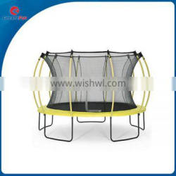 CreateFun 14ft sports and outdoors fiber rods trampoline including safety net